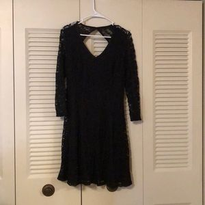 Black Lace Maurices Dress